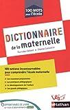 Image de Dictionnaire de la maternelle