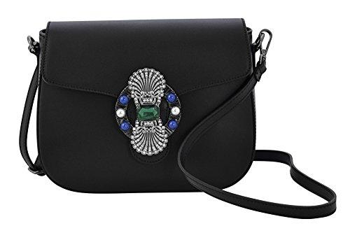 Boteghe - Real Made in Italy AMATA Sacs Femme Sacs Bandoulière Sacs portés Épaule Vrai Cuir Italie