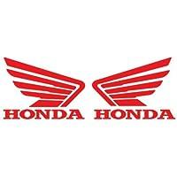 Honda Logo adesivi ALI/motivo coppia rosso 13,97 cm