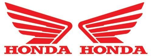 Adhesivos con el logo de Honda y sus alas