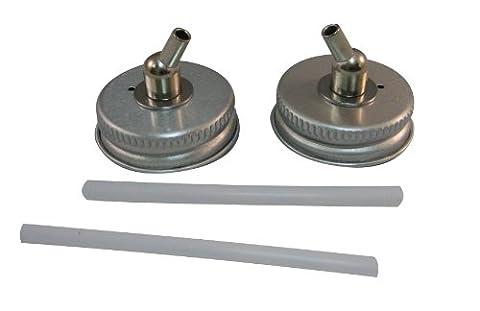 Badger Air-Brush Co. 52-208M 33-Millimeter Metal Adaptor Caps, by Badger Air-Brush Co.