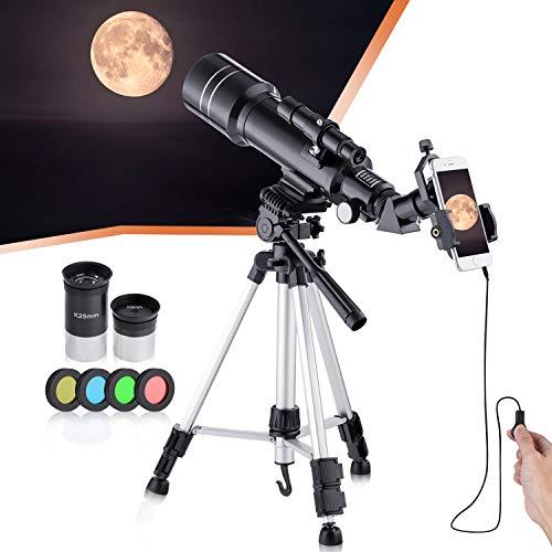 Télescope astronomique professionnel réfractif BNISE,...