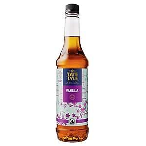Tate & Lyle Vanilla Flavoured Cane Sugar Syrup - 1 x 750ml