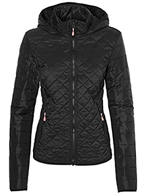 O 'Neill Women's Transit Streetwear Jacket, Womens, Transit jacket, black from ONEAT|#O'Neill