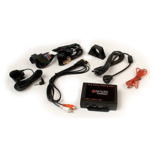 Metra Marine (iSimple Premium Factory Radio Interface für iPod, iPhone oder iPad, und Android für Select GM Fahrzeuge – Frustfreie Verpackung – Schwarz)