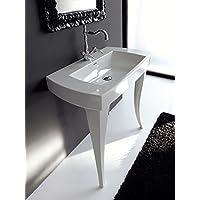 Lavabo A Consolle In Ceramica.Amazon It Consolle Lavabi Lavandini Bagno Fai Da Te