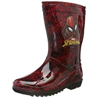 Boys Wellington Boot Spiderman Wellies Size 7 8 9 10 11 12 3 1 Infant - Junior (1 UK, Spiderman Newley)