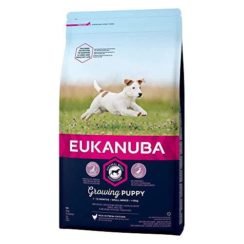 Spectrum - EUKANUBA Growing Puppy Small Breed Rich In Fresh Chicken - 2kg - EU/UK