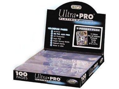 Ultra Pro 150084 - Platinum Pages 9-Pocket -