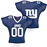 Anagram Folienballon 2618301 New York Giants Jersey Supershape, 61 cm farbenreiche