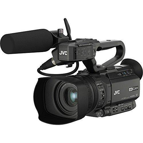 Jvc gy-hm200e videocamera 12,4 mp cmos videocamera palmare nero full hd