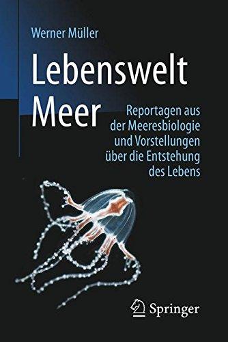 Lebenswelt Meer: Reportagen aus der Meeresbiologie und Vorstellungen über die Entstehung des Lebens