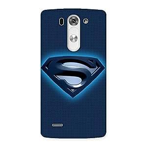 Premium Premier Blue Day Multicolor Back Case Cover for LG G3 Beat