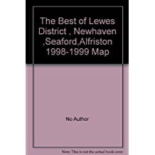 Amazon with a fold out map books the best of lewes district newhaven seafordalfriston 1998 1999 map gumiabroncs Choice Image