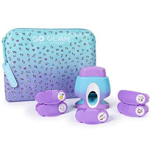 Spin Master Cool Maker GoGlam Nail Studio - Maquillaje de Juguete (Nail Polish Set, Multicolor, Femenino, 8 año(s), China, 330 g)