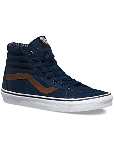 Vans Sk8-Hi Reissue, Sneakers Hautes Mixte Adulte (cord - plaid) dress blues/true white