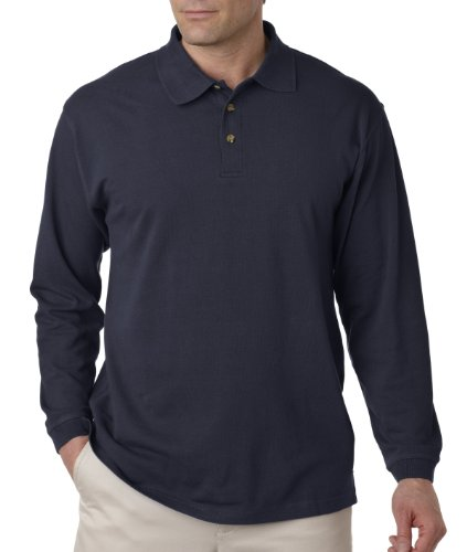UltraClub Herren Poloshirt Navy