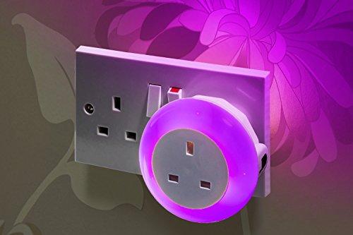 Auraglow-Automatic-Plug-In-Multi-Colour-Plug-Through-LED-Nursery-Night-Light-with-Dusk-till-Dawn-Daylight-Sensor