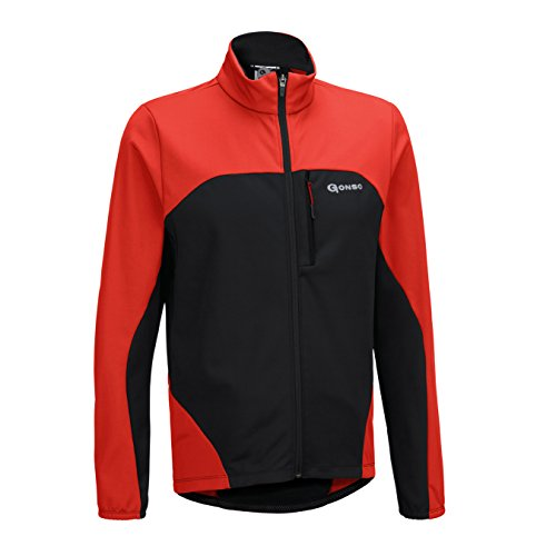 Gonso Herren Thermo Active Jacke Bog fiery red