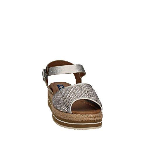 Wrangler WL171652 Sandalo Donna Argento
