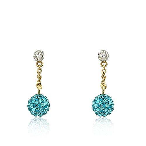 molly-glitz-glitz-blitz-14k-gold-plated-white-tiny-crystal-ball-top-aqua-crystals-ball-dangle-earrin