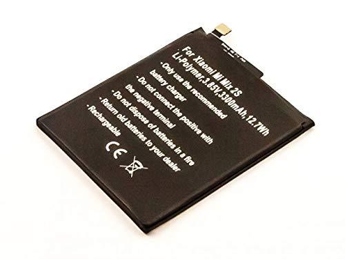 Batería para Xiaomi Mi Mix 2S, polímero de Litio, 3,85 V, 3300 mAh, 12,7 WH, sin Herramientas