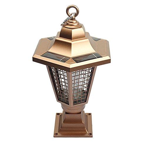 Garten Solar Mosquito Lampe Killer / UV LED Lampe / Wireless und kann suspendiert werden / Indoor und Outdoor erhältlich Poison-Free High Technology Schädlingsbekämpfung