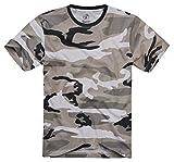 Brandit Camiseta Premium Camiseta Camuflaje Urban L