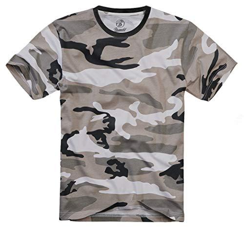 Brandit T-Shirt, Urban XL (Urban-camo-t-shirt)