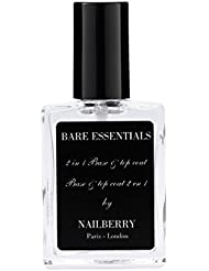Nailberry 2 in 1 Bare Essentials Oxygenated Base and Top Coat 15 ml