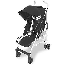 Maclaren Quest FC Silla de paseo - ligero, para recién nacidos hasta los 25kg, Asiento multiposición, suspensión en las 4 ruedas, Capota extensible con UPF 50+
