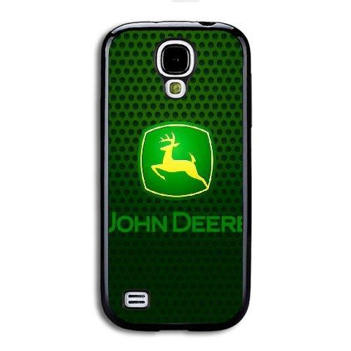 Generika Call Telefon hülle für Samsung Galaxy S4 Mini/Schwarz/JOHN DEERE LOGO/Nur für...