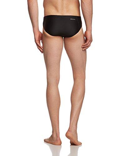 adidas Infinitex Essentials Slip de bain Homme Noir/Silver Metallic
