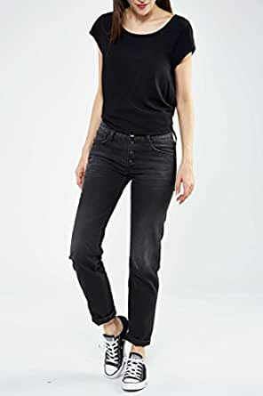 Jeans Julicks Replay Noir Delave T25 L32