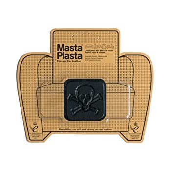 cf9f39f2638 MastaPlasta Black Self-Adhesive LEATHER REPAIR Patches. Choose size/design.  First-aid for sofas, car seats, handbags, jackets etc