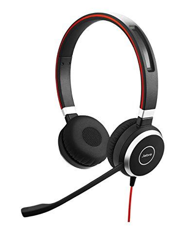 Jabra Evolve 40 Professionelles VoIP-Softphone Stereo Headset (geeignet für PC, Laptop, Smartphone und Tablet) Business Headset