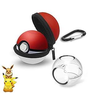 Pokeball Plus Hülle – Tragetasche für Nintendo Switch Pokeball Plus Controller – Pokemon Ball Case Pokeball-Hülle für Nitendo Switch Zubehör