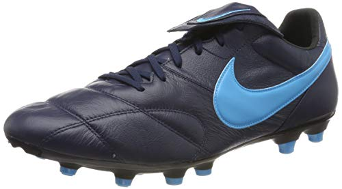 Nike The Premier II FG, Zapatillas de Fútbol Unisex Adulto, Negro Obsidian/Lt Current Blue/Black 440...