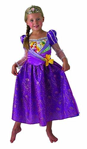 Kostüm Deluxe Rapunzel - Rubie s it620279-l-Rapunzel Deluxe Kostüm, in Behälter, Größe L