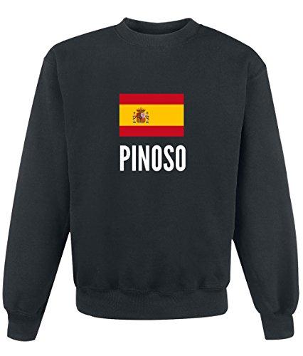 Felpa Pinoso city Black