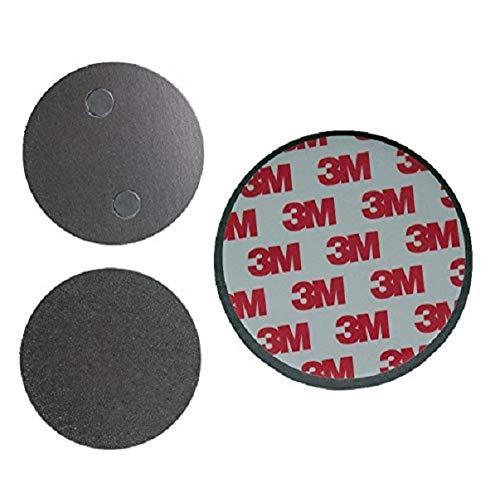 10 DKB Magnethalterung 40mm für Rauchmelder 3M Klebepad Zubehör Brandschutz