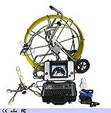 AUXLL Fabriqué en Chine enregistrant la caméra d'inspection de Tuyau d'évacuation d'égout sous l'eau avec vidéo panoramique/Audio avec câble de 120 m