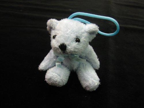 Peluche Teddy avec clé – Ted Bleu sur une Corde