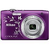 """Nikon Coolpix S2900 Appareil photo numérique compact 20,1 Mpix Écran LCD 2,7"""" Zoom optique 5X Violet"""