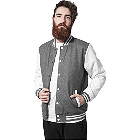 Urban Classics TB201 Oldschool College Jacket Giacca uomo S