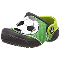 Crocs Unisex Fun Lab Football Clog Kids