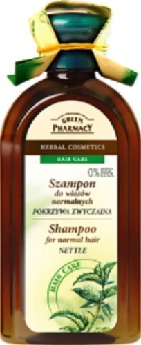 Green Pharmacy Kräuter Shampoo Brennnessel normales Haar ohne Parabene 350ml -