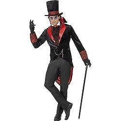 Smiffy's - Disfraz de Drácula para Hombre, Talla L (52 - 54) (SM31990-L)