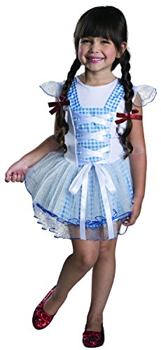 Rubies Wizard of Oz 75th Anniversary Dorothy Tutu Dress Costume, Toddler Size by Rubie's