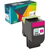 Do it Wiser Cartouche de Toner (3,000 Pages) pour Lexmark CX410de CX410dte CX410e CX510de CX510dew CX510dhe CX510dthe | 80C2HM0 (Magenta)